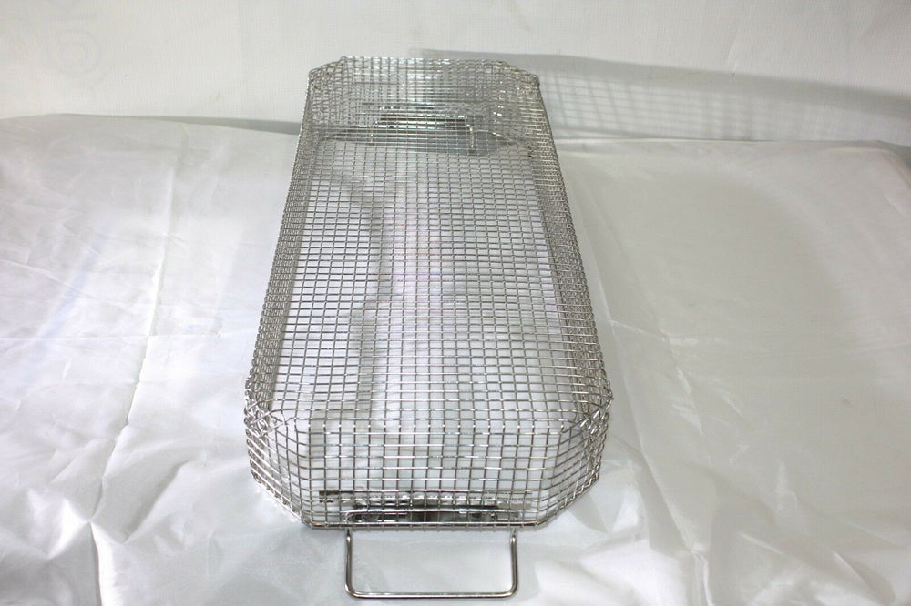Long Stainless Steel Handling Basket (200GS)