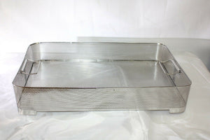 Large Unbranded Stainless Steel Sterilization Basket Tray (196GS)