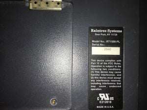Raintree System Monitor--RT1500-PL (292GS)
