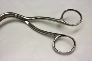 "Ohio Magill Forceps Open Tip 10"", Adult (248GS)"