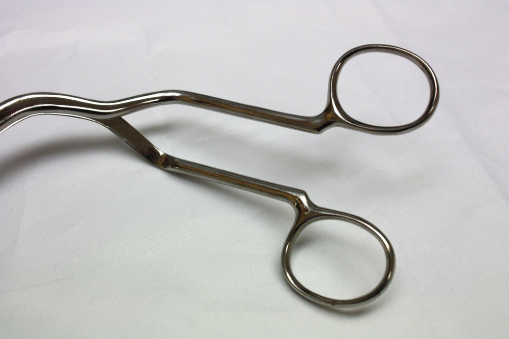 Magill Serrated Closed Tip Forceps, Adult, Unbranded (207GS)