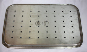 Polar Ware Stainless Steel Perforated Instrument Tray (287GS)