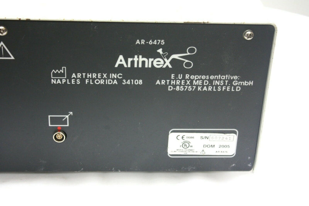 Arthrex Continuous Wave III Arthroscopy Pump (64RL)