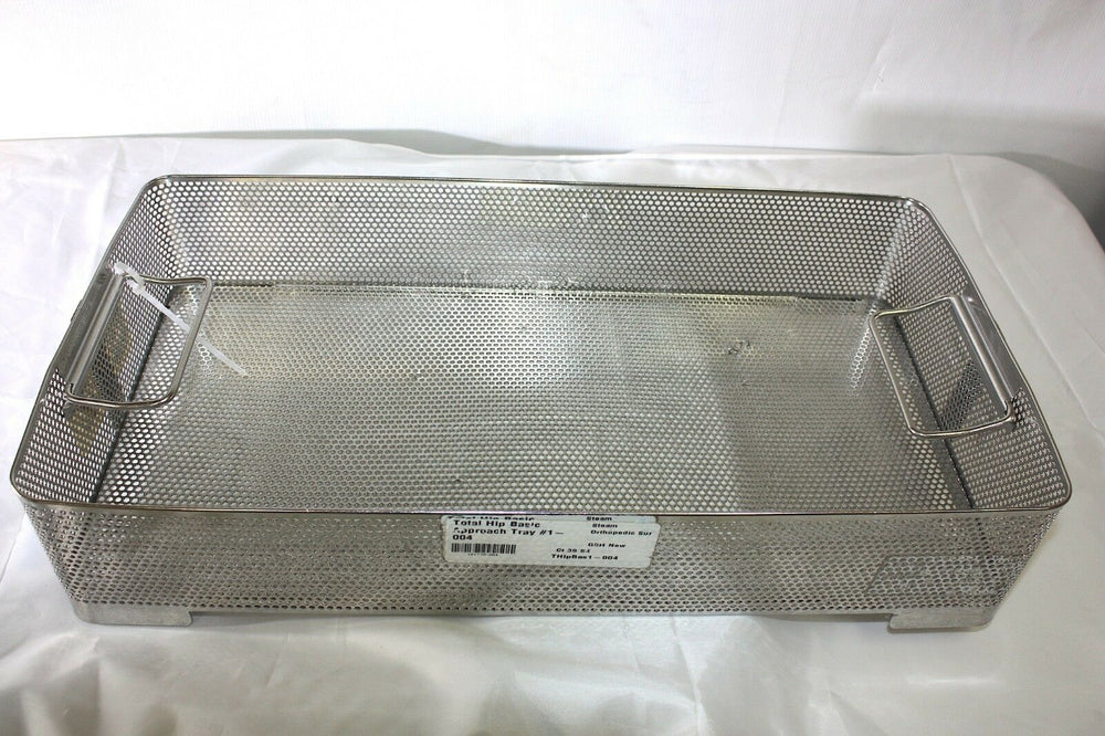 Unbranded Stainless Steel Sterilization Basket Tray (338GS)