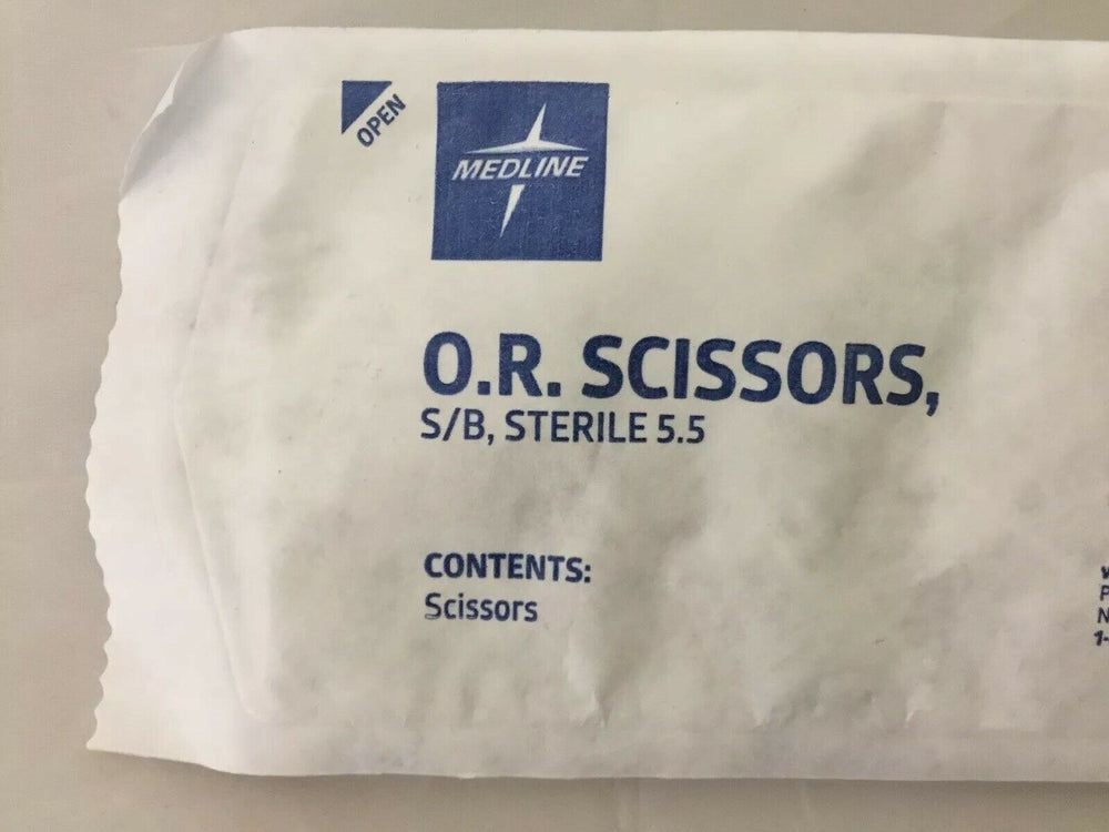 Medline O.R. Scissors S/B Sterile 5.5 (82KMD)