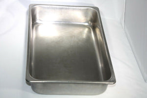 Stainless Steel Rectangular Basin --unmarked (320GS)