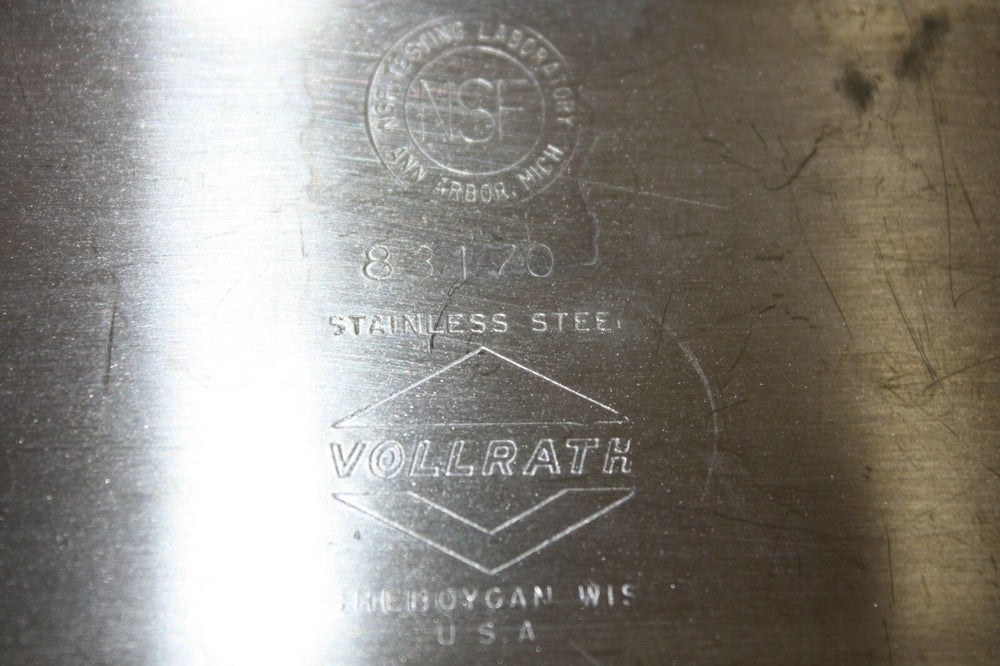 Vollrath 83170 Long Stainless Steel Instrument Tray (367GS)