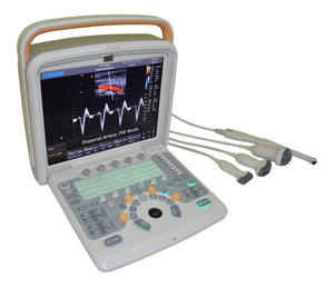 Color Doppler Ultrasound Machine&One Cardiac probe Chison Q9 CW