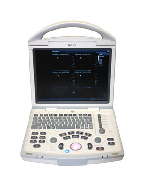 Portable Ultrasound FDA Approved Top-Quality Model DP20 with One Probe of Choice