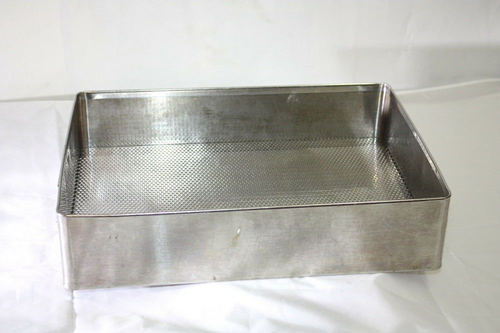 "Stainless Steel Instrument Tray 15"" X 10 3/4"" X 3 1/2"" (315GS)"