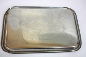 Unmarked Stainless Steel Instrument Tray (336GS)
