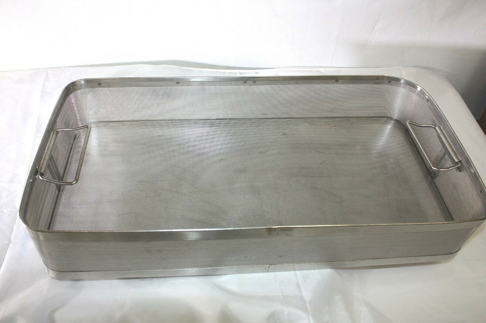 Unbranded Stainless Steel Sterilization Basket Case (337GS)