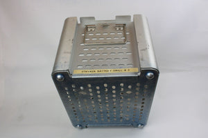 stryker Instruments Sterilization Container 4102-452 Case With Instrument Tray