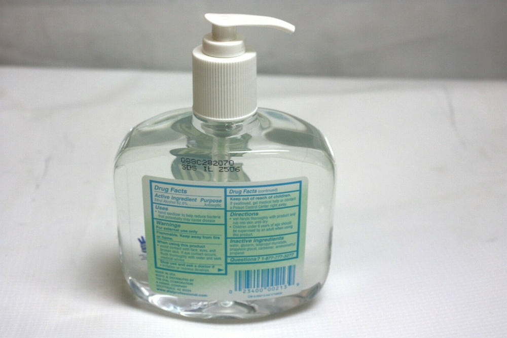 Dial Professional Anti Bacterial Hand Sanitizer, Fragrance Free (529KMD)