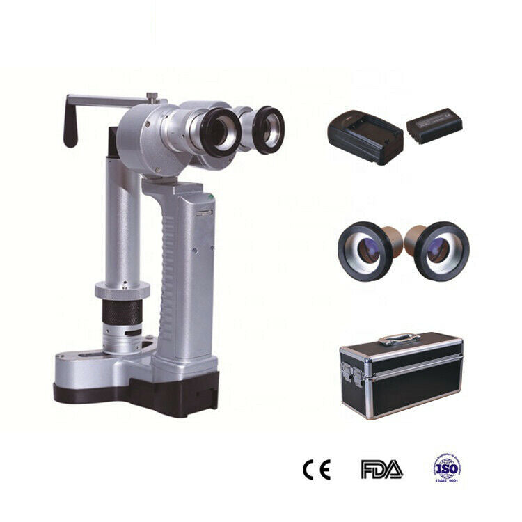 Veterinary Handheld Slit Lamp Converging Microscope with Carrying Case, KeeboVet