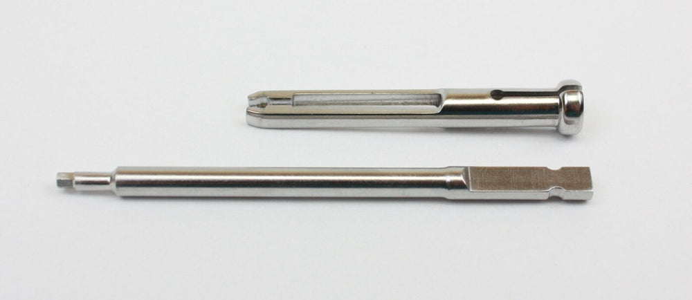 Orthopedic Instrument Quick Connect Screwdriver Shaft 2.0mm With Holding Sleeve