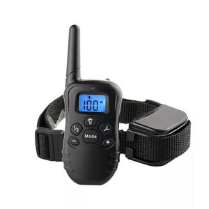 Remote Control Shock, Vibration, Tone, and Light 330 Yard Dog Training Collar