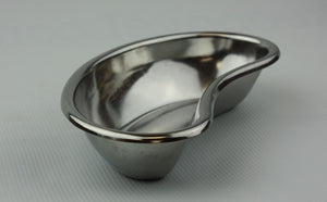 "8"" Stainless Steel Emesis Basin, Kidney Shaped Collection Dish Container"