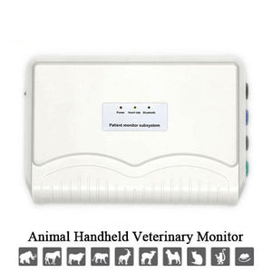 Handheld Veterinary Patient Monitor Sub-System, Use Bluetooth or USB to Screen