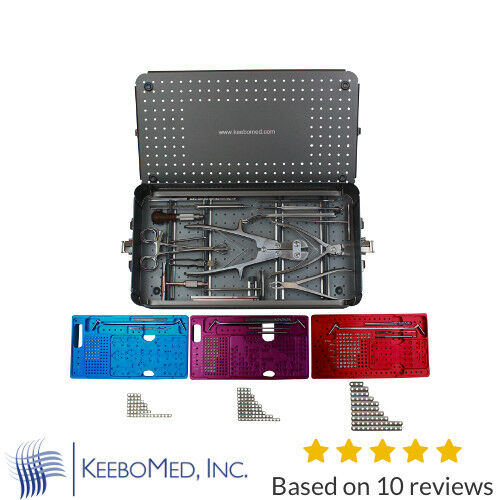 Orthopedic Mini-Micro Fragment System/Set 1.5/2.0/2.7mm Instruments | KeeboMed