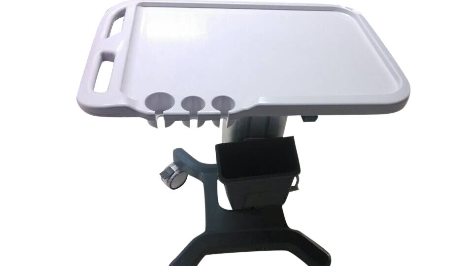 Cart Trolley for Portable Ultrasound Machines With Probe Holders, KeeboMed KM-5