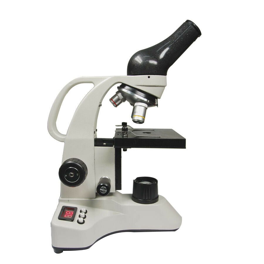 Monocular Biological Microscope 40X-640X with Hot Stage for Veterinary, KeeboVet