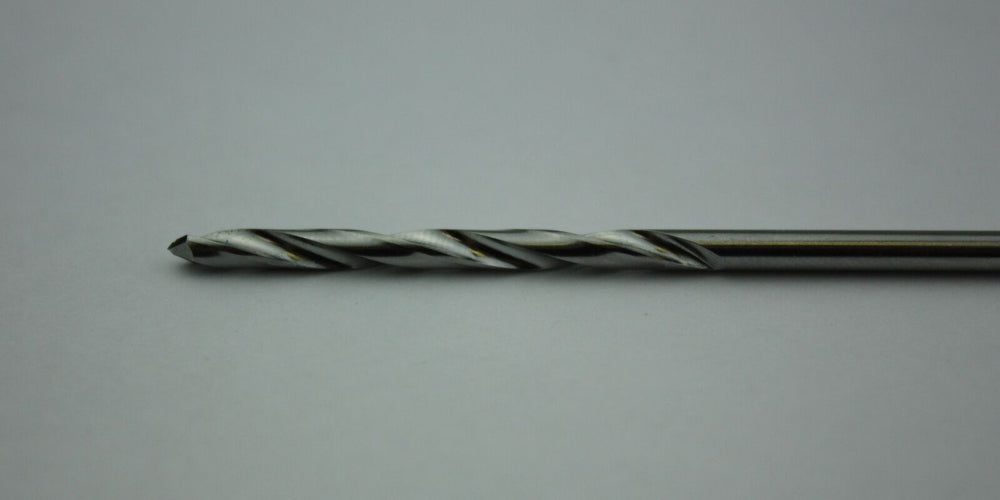 Stainless Steel Drill Bit 3.0mm - 115mm Length - Orthopedic Instrument