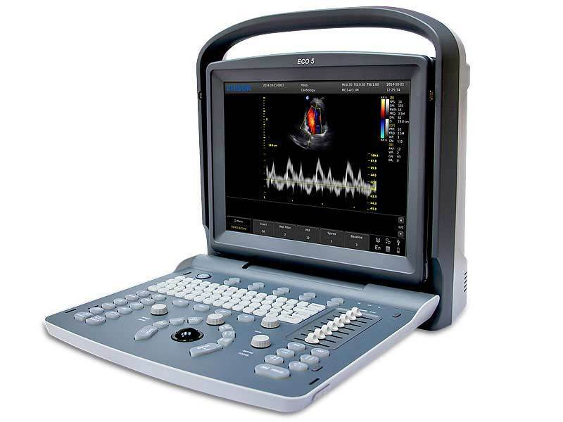 Refurbished Chison ECO5Vet Color Doppler Veterinary Ultrasound, Probe, Warranty