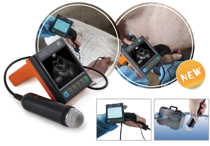 Cow, Sheep, Cat/Dog Pregnancy Test Machine Veterinary Imaging Doppler Ultrasound