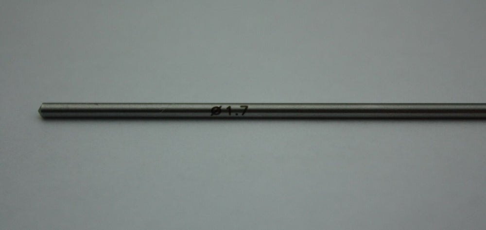 Stainless Steel Drill Bit 1.7mm - 105mm Length - Orthopedic Instrument, Keebomed