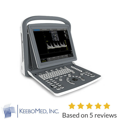 "Chison ECO2 Powerful Affordable Lightweight 15"" LED Ultrasound w/ Battery & Case"