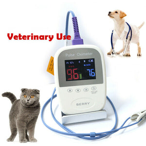 LCD Display Bluetooth Palm Pulse Oximeter SpO2 and Pulse Rate Veterinary Use