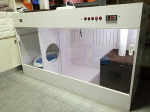 Veterinary Equipment ICU Pet Incubator for Pet Clinic, Cats, Dogs, Small Animal