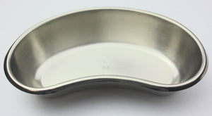 "Vollrath - Stainless Steel 6"" Emesis Basin, Kidney Shaped Dish Container"