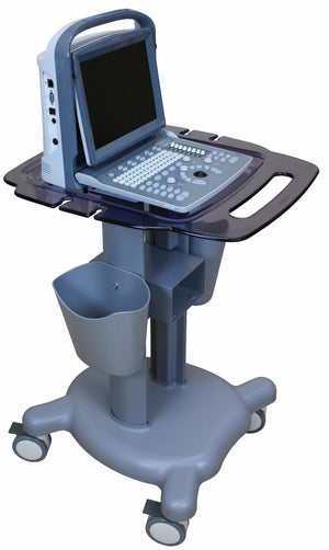 Quality Medical Cart Trolley Portable Ultrasound Machines with Probe Holders