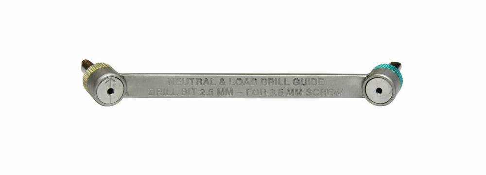 Orthopedic Neutral & Load Drill Guide | Drill Bit 2.5mm for 3.5mm Screw