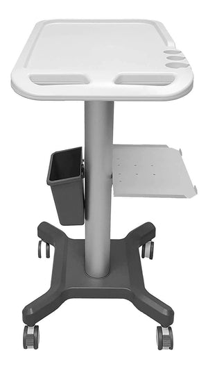 Mobile Medical-Cart Trolley for Portable Ultrasound Machines & Keebomed KM-5, Height 43""