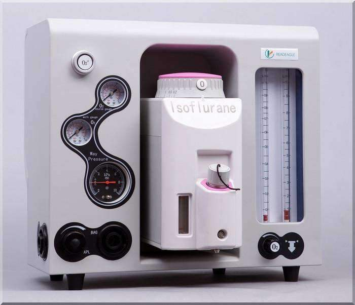 RC-902Vet Veterinary Portable Mobile Anesthesia Machine
