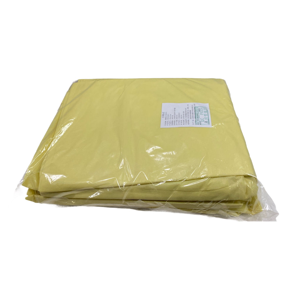 Medline Protective Gowns CRI4010PCC Yellow Regular Large