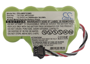 CS-AMS723MD Medical Replacement Battery for Diversified Medical