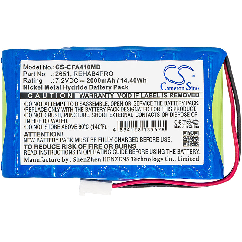 CS-CFA410MD Medical Replacement Battery for Cefar