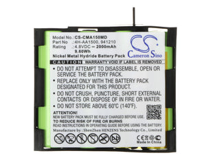 CS-CMA150MD Medical Replacement Battery for Compex