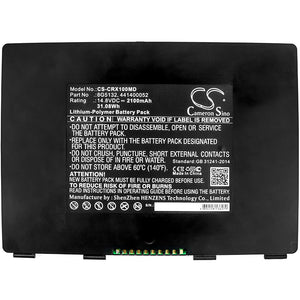 CS-CRX100MD Medical Replacement Battery for Carestream