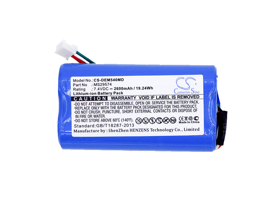 CS-DEM540MD Medical Replacement Battery for Draeger
