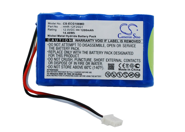 CS-ECG108MD Medical Replacement Battery for Kenz Cardico