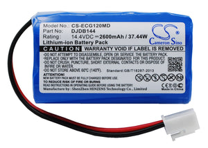 CS-ECG120MD Medical Replacement Battery for CMICS & Dongjiang
