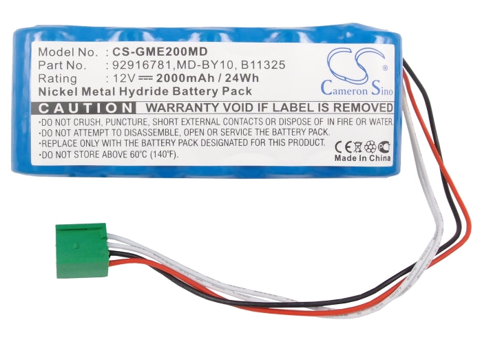 CS-GME200MD Medical Replacement Battery for GE