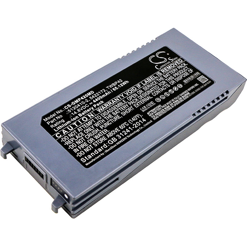 CS-GMP420MD Medical Replacement Battery for GE