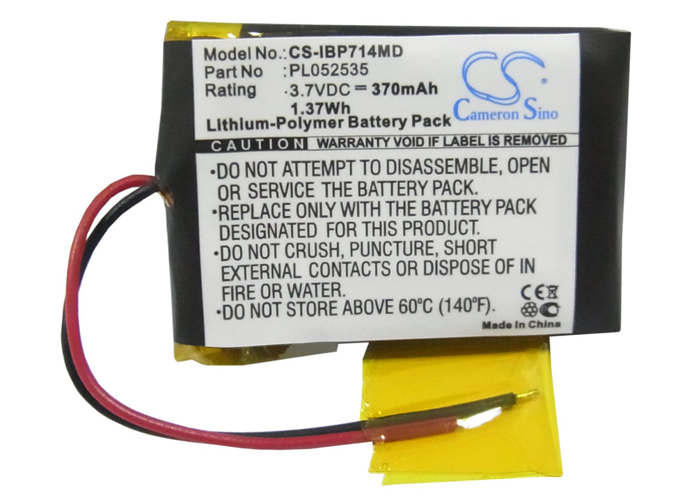 CS-IBP714MD Medical Replacement Battery for iHealth