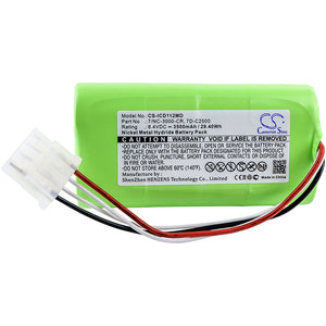 CS-ICD112MD Medical Replacement Battery for Innomed